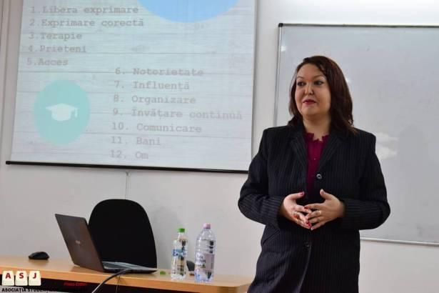 1 Zilele Jurnalismului Local - Andreea Ignat