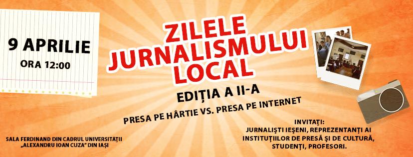 """ASJ ia pulsul presei locale prin """"Zilele Jurnalismului Local"""", ediția aII-a"""