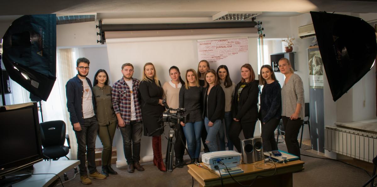 Workshop pe tema audiovizualului, organizat deASJ